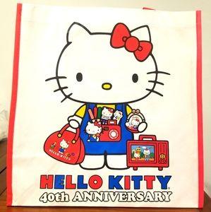 Hello Kitty Con 40th Anniversary Tote 2014 Limited